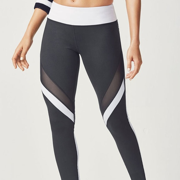 69c3e77ab174c0 Fabletics Pants | Salar Mesh Powerhold Legging | Poshmark